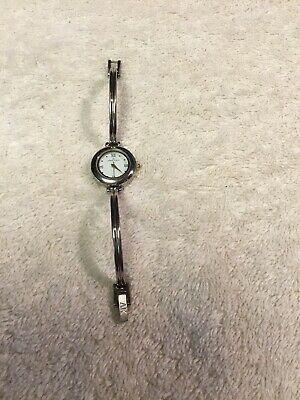 ANNE KLEIN SILVER TONE LADIES WATCH Pre Owned New Battery