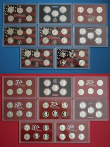 $10 Face Value Emergency 90% Junk Silver Coins Roll State/ATB Quarters FREE Ship
