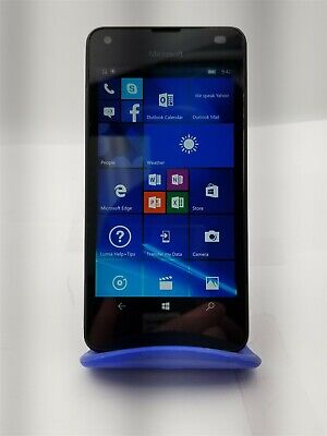 Nokia Lumia 550 16GB Black RM-1127 (Unlocked) GSM World Phone fr973