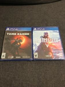 Selling brand new sealed copy of Battlefield & Tomb Raider