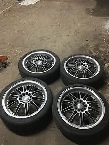 "18"" Osaka Rims, 5 Stud Glenwood Blacktown Area Preview"