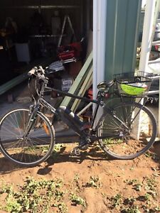 Electric hybrids bike