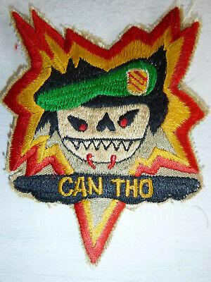 CAN THO - RED EYE - Patch - 1st / 5th US SPECIAL FORCES - Vietnam War - 3576