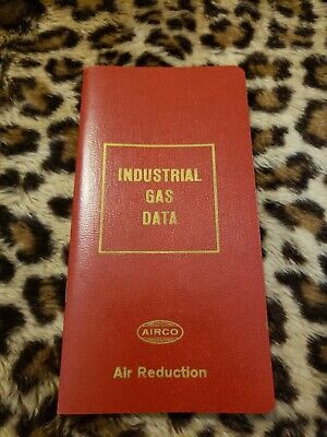 Airco Industrial Gas Data Booklet Air Reduction 1963