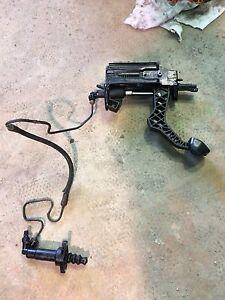 Mk4 clutch master and slave cylinder