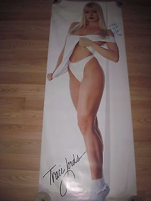 Tracy/Traci Lords Signed Calvin Klein Bikini Panties/Lace Socks Door/Wall Poster