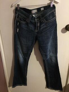 """American """"buckle"""" jeans"""