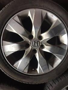 Honda Accord Euro Sedan used alloy-wheels and tyres Sunshine Brimbank Area Preview