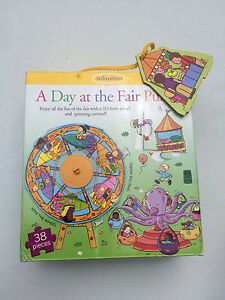 Infantino Puzzle - A Day at the Fair