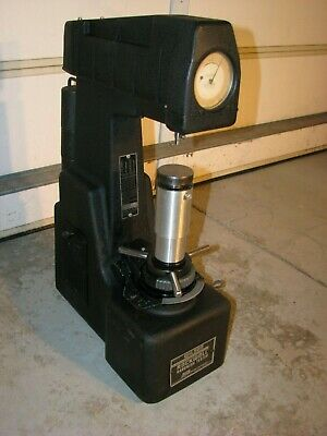 Wilson Rockwell Hardness 3jr Machine For Testing Material Hardness Of Metal