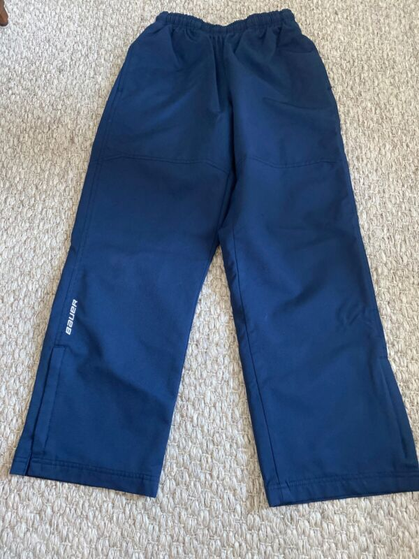 NEW Bauer Hockey Lightweight Warm Up Team Pant Navy Junior/Youth Large