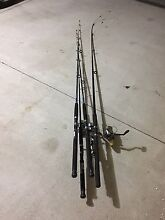 4x Fishing Rods Dalyellup Capel Area Preview