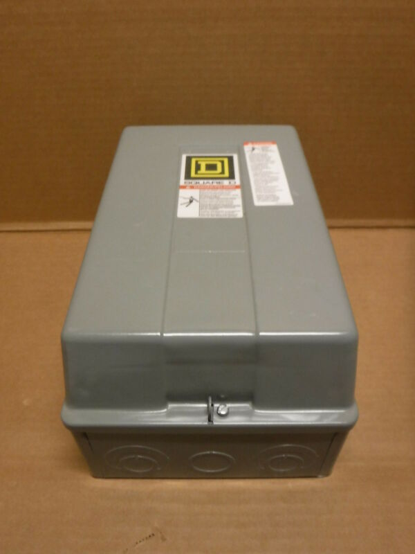 Square D Type 1 Enclosure 8903LG80 Electrical Box Insdustrial Commercial