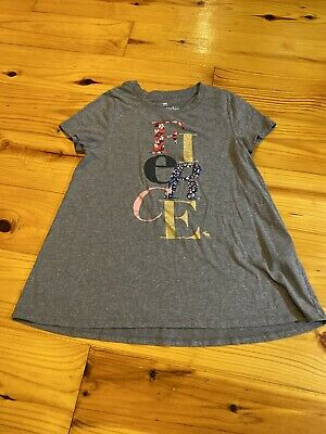 Girls Size 9 10 9/10 Abercrombie Kids Short Sleeve Shirt