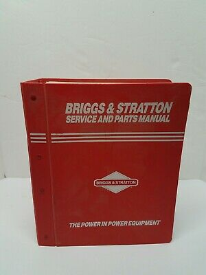 Briggs Stratton Engine Service And Parts Manual July 1993 Vintage