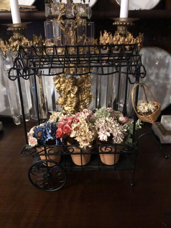 Byers Choice Accessory Flower Cart 2008