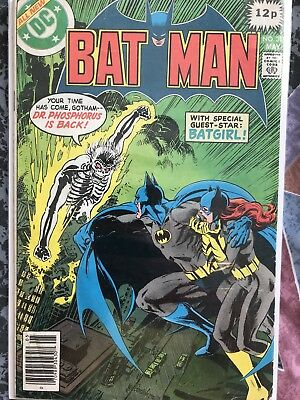 Batman #311  May 1979 Issue Unofficial Grade: VG+ DC Comic Dr Phosphorus Batgirl