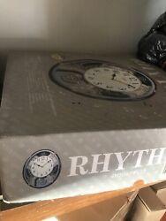 Rhythm Clocks 4MH865WU23 Chateau Musical Motion Wall Clock 30 Melodies