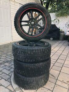 Set pneus d'hiver Hankook 205/50 R17