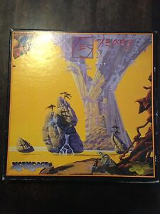 Yes Years 4 cd box set in great  used shape