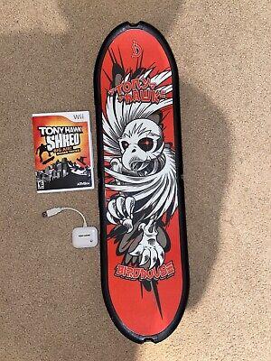 Tony Hawk: Shred + Skateboard (Nintendo Wii, 2010)