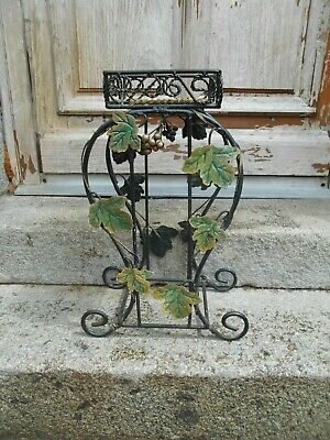 French metal plant stand very pretty GRAPE DECORATION
