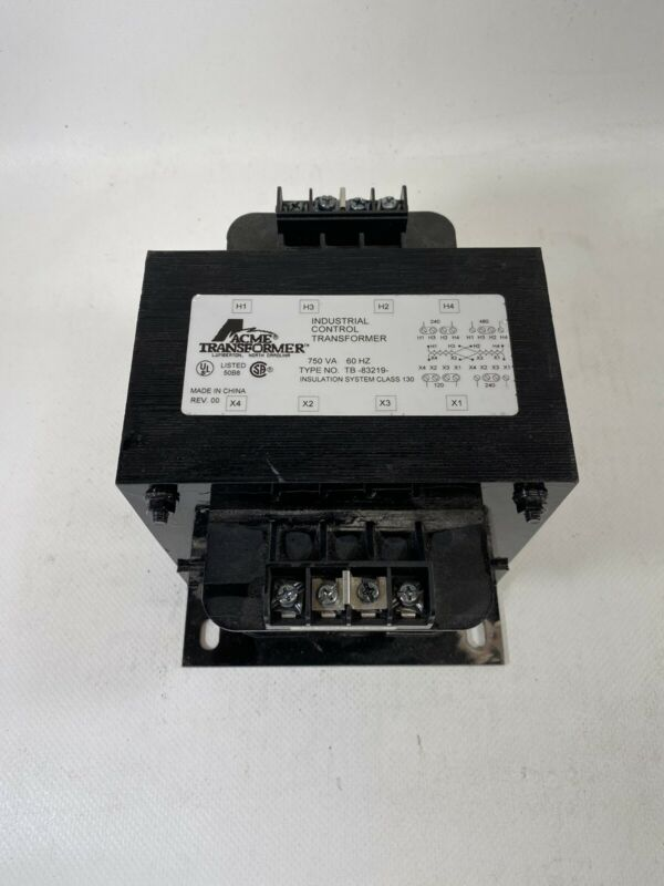 ACME Transformer TB-83219 Industrial Control Transforme750 VA  60Hz