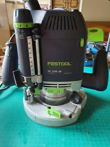 Festool OF2200 Router set with Accessory Set