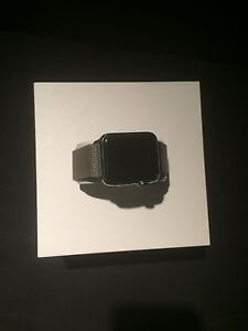 Apple Watch Stainless Steel with Milanese Loop   top condition Sydney City Inner Sydney Preview