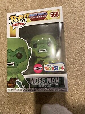 FUNKO POP MASTERS OF THE UNIVERSE MOSS MAN FLOCKED TOYS R US EXCLUSIVE He-Man