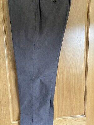 Incotex Pants - Men's 54 Slim Fit Light Brown Cotton Pique Slowear