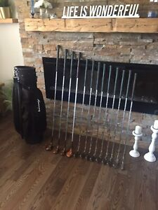 Golf clubs (Right handed)