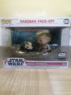 Dagobah Face-Off Funko Pop Star Wars Movie Moment Smugglers Bounty Exclusive