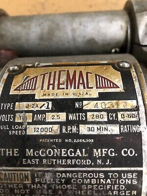 Themac Tool Post Grinder J-2a-1