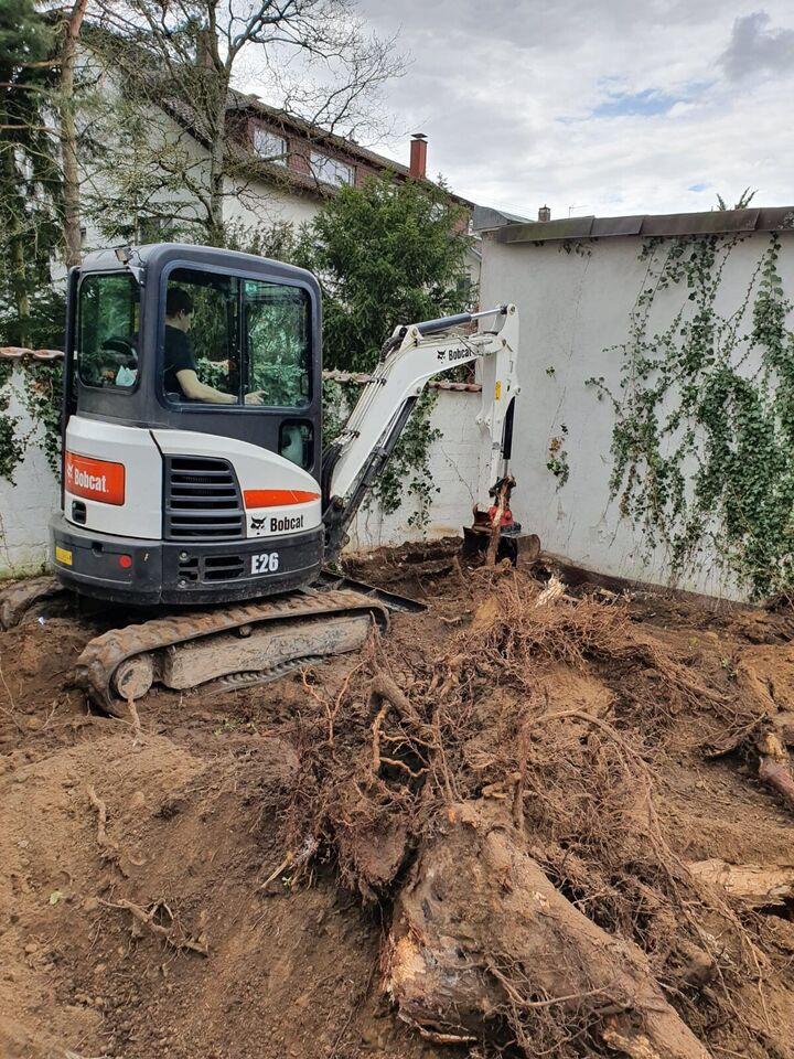 Baggerarbeiten, Abriss, Baufeldräumung, Garten-und Landschaftsbau in Freckenfeld