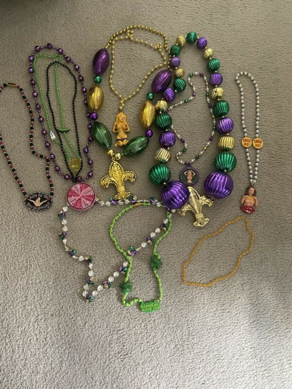 Mardi Gras Beads direct from New Orleans Mardi Gras 2014 High Quality