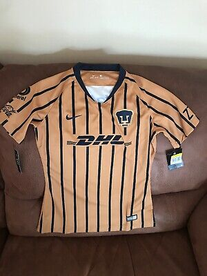 Nike Pumas Unam Mexico 2018  Soccer Jersey NWT Size S Womens image