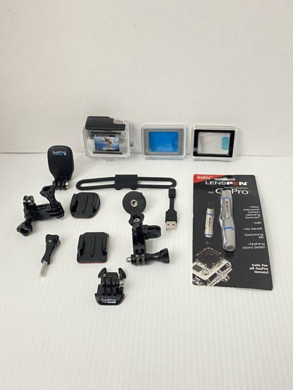 Lot of Assorted Gopro Accessories / Parts / Waterproof Case, Etc...
