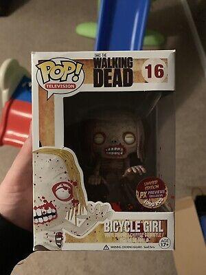 Funko Walking Dead Bloody Bicycle Girl Limited 1000 - Girl Walking Dead