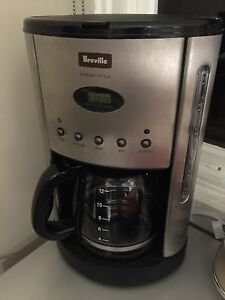 Breville Aroma Style coffee machine Vermont Whitehorse Area Preview