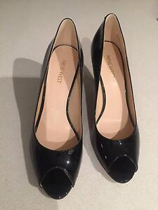 Nine West New NWORISSA Peep Toe Heels, Black (Size 8.5) RRP $135 Lane Cove Lane Cove Area Preview