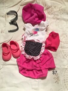 Many sets of 18 inch Doll Clothes
