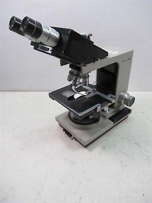Bausch Lomb Balplan Binocular Microscope 3 Objective Lenses 100x 40x 10x