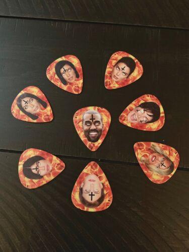 Gary Holt American Whore Story Guitar Picks (8 total)