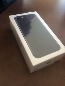 Brand New Never Used Black IPhone 7 128Gb