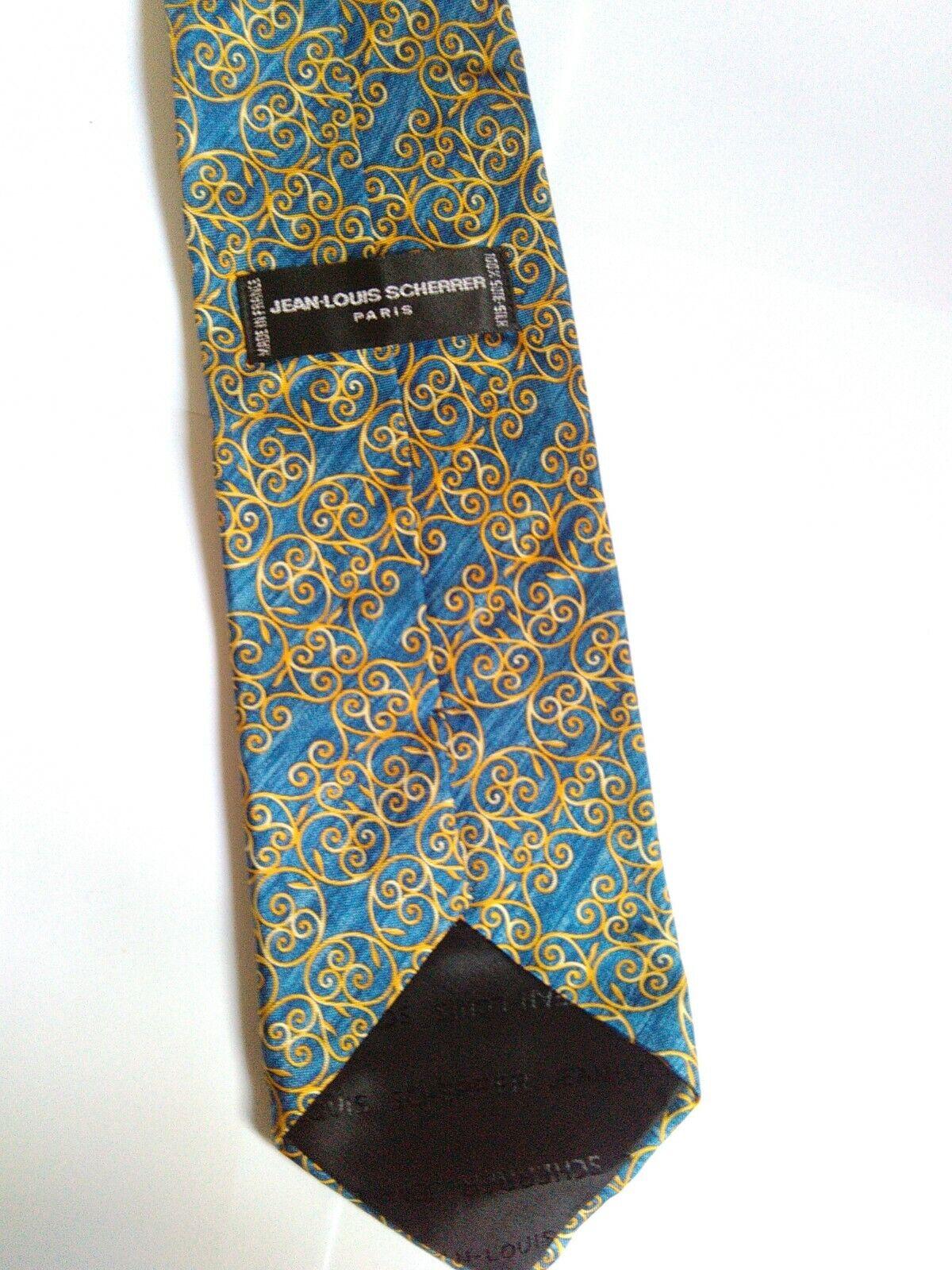 Cravate scherrer en soie