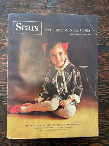 1968 SEARS Fall / Winter Catalog Good Condition FREE SHIPPING