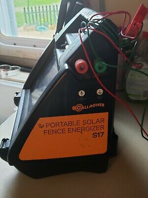 Gallagher S17 Solar Fence Charger 10 Acres