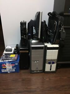 4 PC's laptop, lots of other stuff