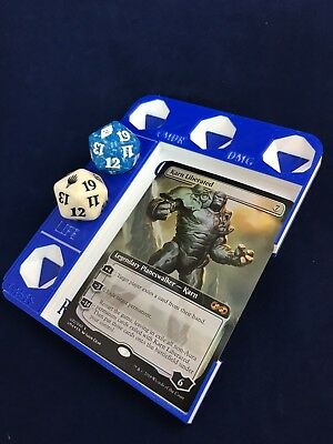 Deluxe High Res Multicolor Magic Commander / EDH Tray MTG (3D Printed) - Deluxe Printing